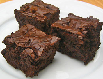 homemade brownies and not have at least one? Good grief, that's