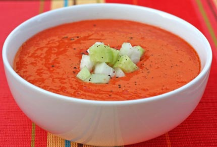 Inspired2cook.com » Andalusian Gazpacho