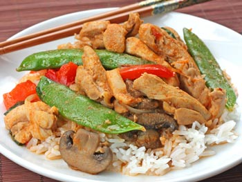 Inspired2cook.com » Thai Red Curry with Chicken  Vegetables