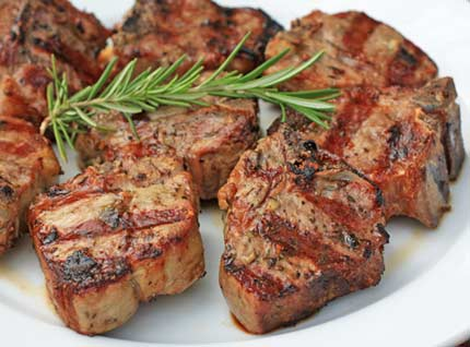 lamb chops spiced lamb chops rosemary crusted lamb chops herb ...