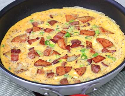 Inspired2cook.com » Country French Omelet