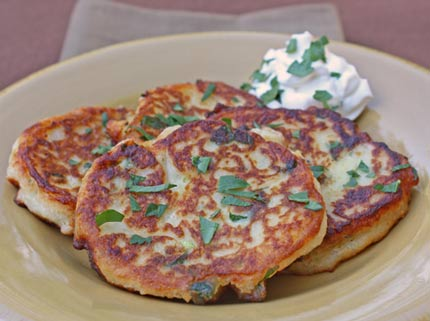 Inspired2cook.com » Leftovers: Mashed Potato Pancakes