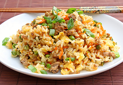 Inspired2cook turkey or pork fried rice we love fried rice in our house not only do you get all the food groups in one dish protein carbs veggies its also super quick and easy to make ccuart Choice Image