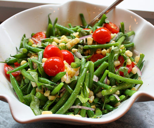... green beans cherry green bean and cherry tomato green bean salad with