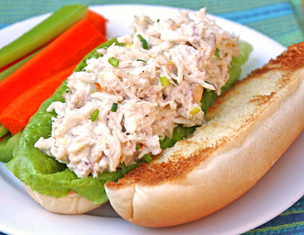 how to make crab rolls