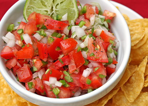 Inspired2cook.com » Pico De Gallo Salsa