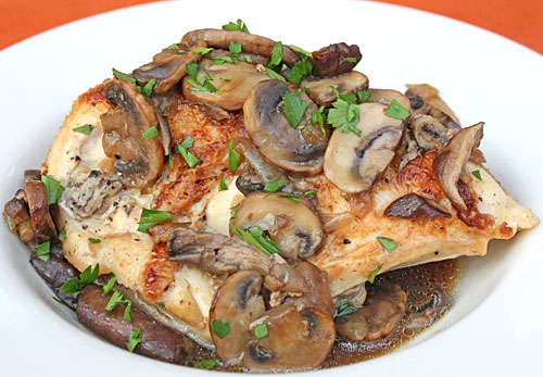 Inspired2cook.com » Braised Chicken with Mushrooms