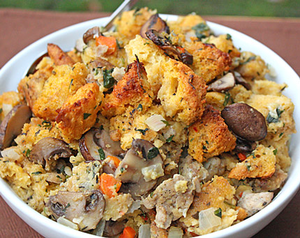 South Beach Friendly Whole Wheat Stuffing With Sage, Italian Sausage ...