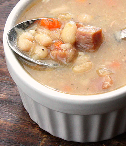 Inspired2cook.com » Ham and Bean Soup