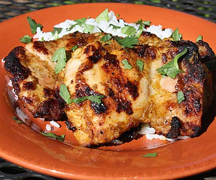 indian grill chicken recipe in oven