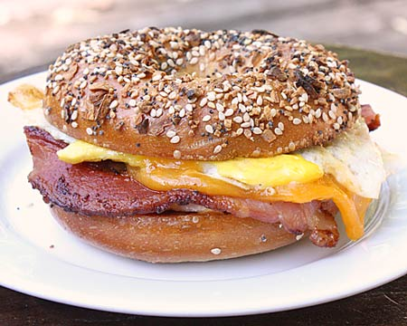... .com » Bacon, Egg, and Cheese Sandwich, New York City Deli-Style