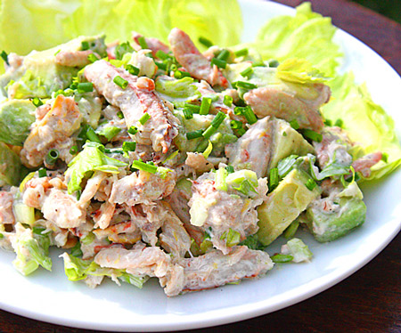 Image result for crab avocado salad