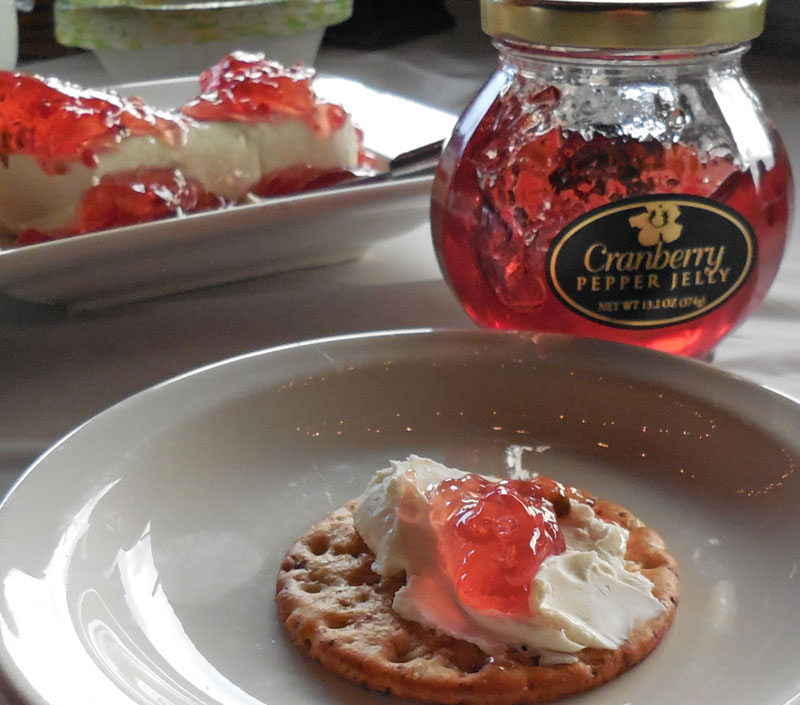 pepper jelly dip aloha cranberry pepper jelly cranberry pepper jelly ...